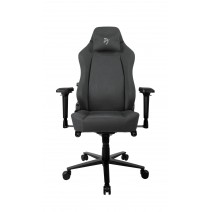 Arozzi Gaming Chair Primo Woven Fabric Black/Grey/Grey logo