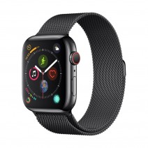 Apyrankė Devia Elegant Milanese 40mm Apple Watch juoda