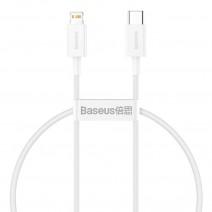 USB kabelis Baseus Mini USB to Type-C 3A 1m baltas CATSW-02